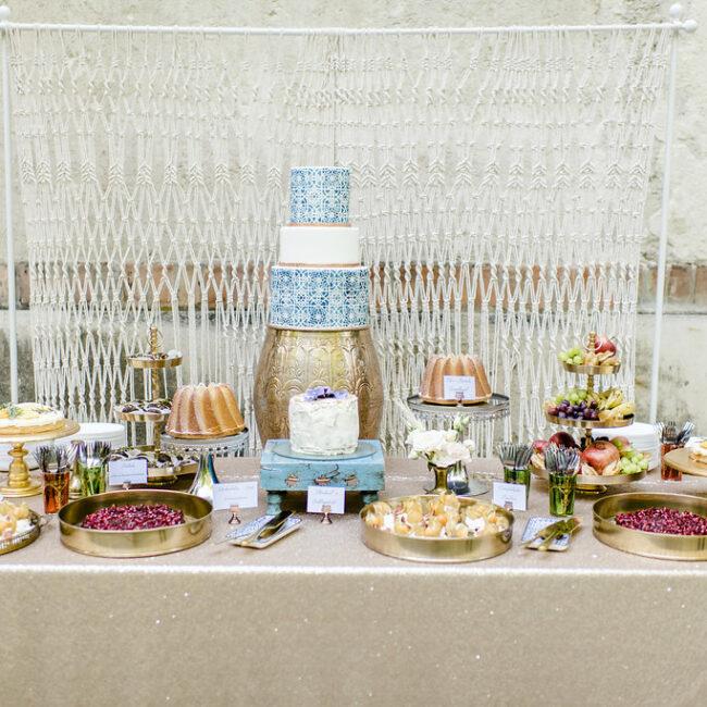 Boho Hochzeit Sweet Table Verleih