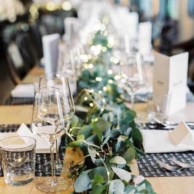 Tischdeko Hochzeit leihen