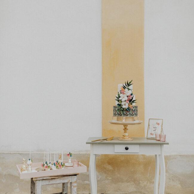 Tropical Sweet Table Hochzeit Verleih