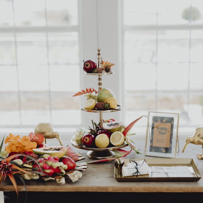 Fruit Bar Hochzeit