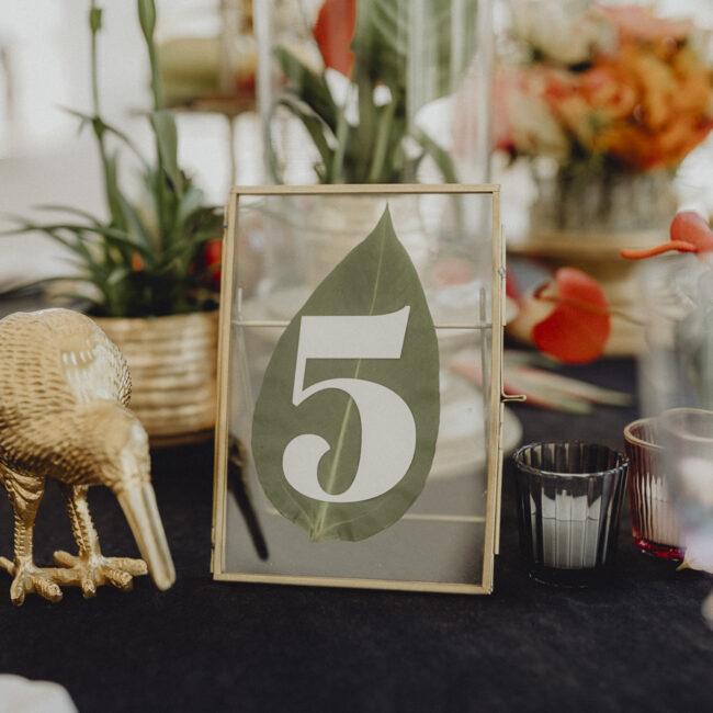 Tischnummern Hochzeit Verleih